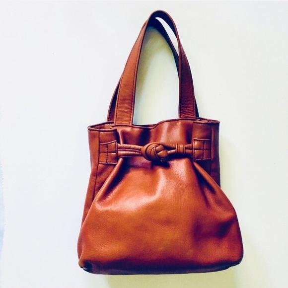Cognac rust brown genuine leather tote bag purse. Vintage.  M 5c2d1bd1951996a218c77665. M 59dd24bc5a49d0947401ed8c.  M 59dd24bd9c6fcfb2fd01eb95 0e740e05682b2